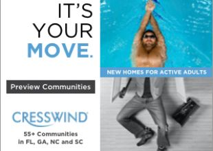 Cresswind 55+ Communities by Kolter Homes