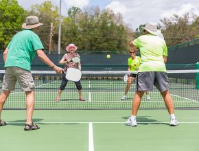 Pickleball and How it Took Over Retirement Living
