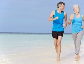 Walking and Jogging Keeps Active Adults Fit