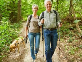 55+ Healthy Living - Walking That Extra Mile