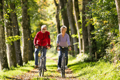 Biking is a Beneficial Pastime for Active Adults