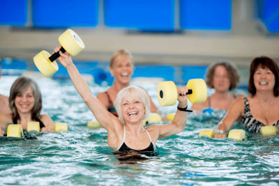The Benefits of Water Aerobics for Seniors