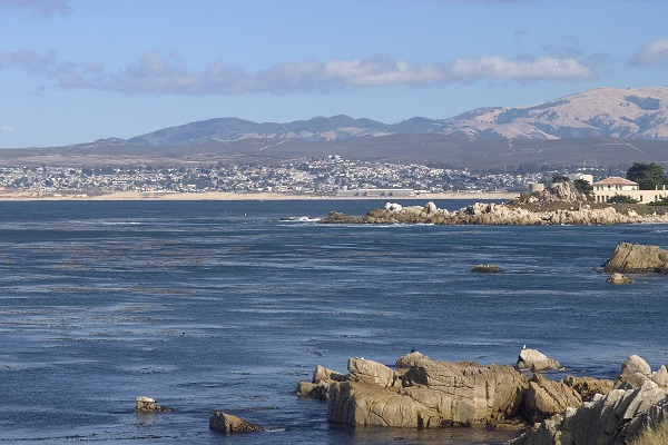 South Monterey Bay in California