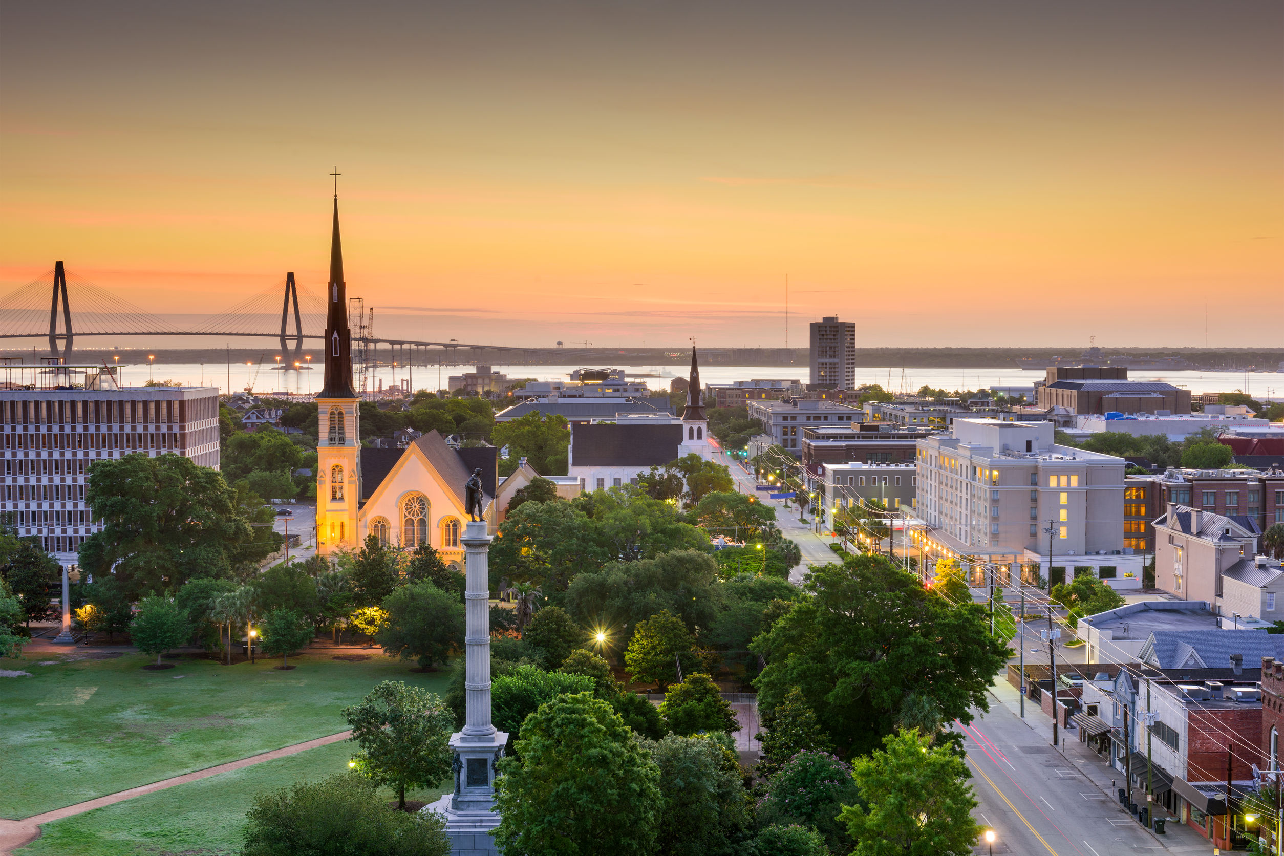 Charleston, south Carolina, USA skyline
