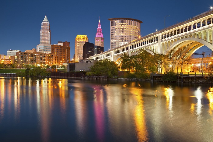 Downtown Cleveland Ohio