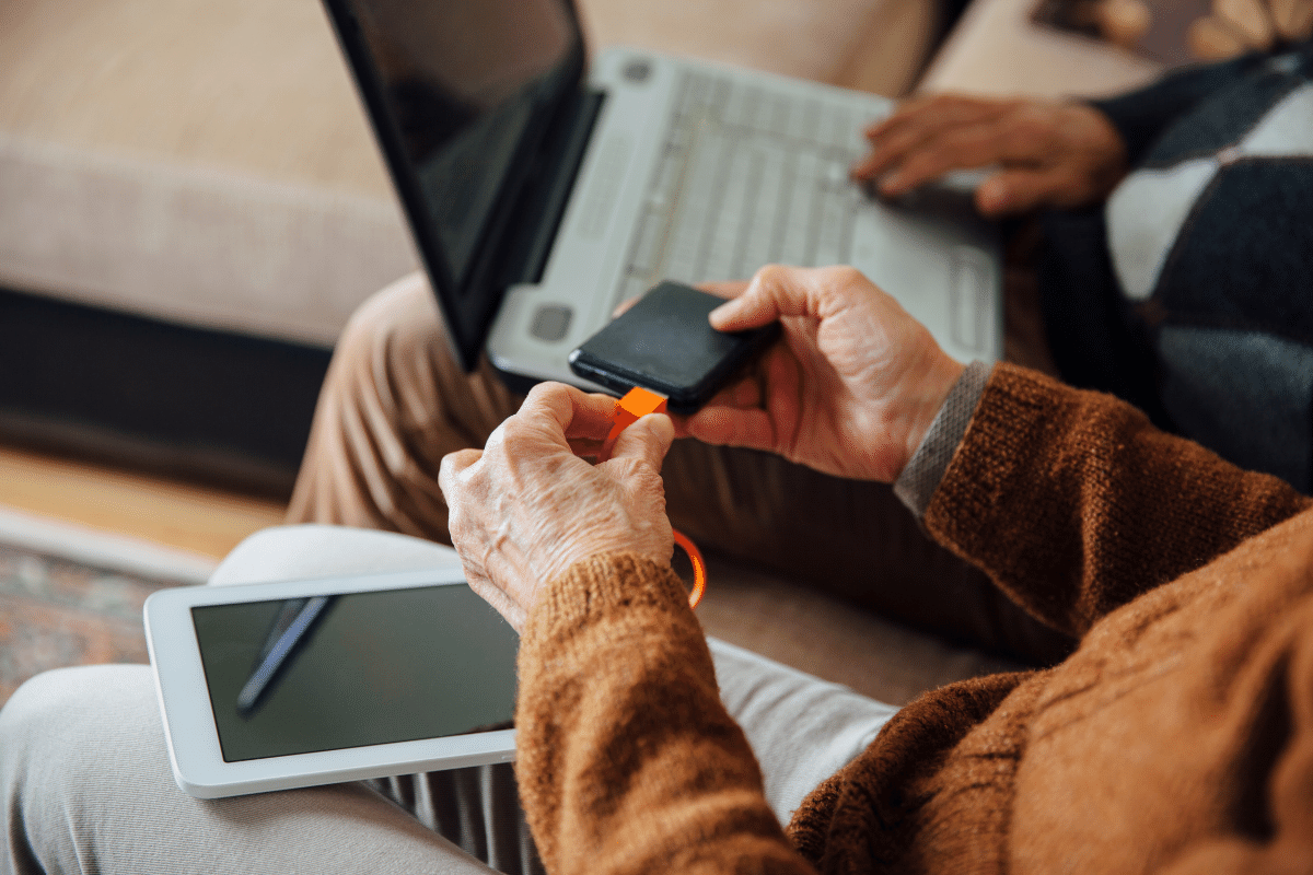Technology gadgets for seniors